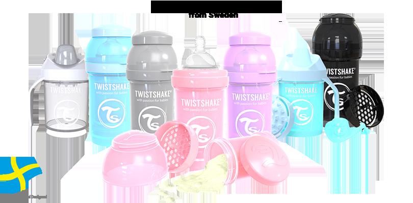 TwistShake哺乳瓶