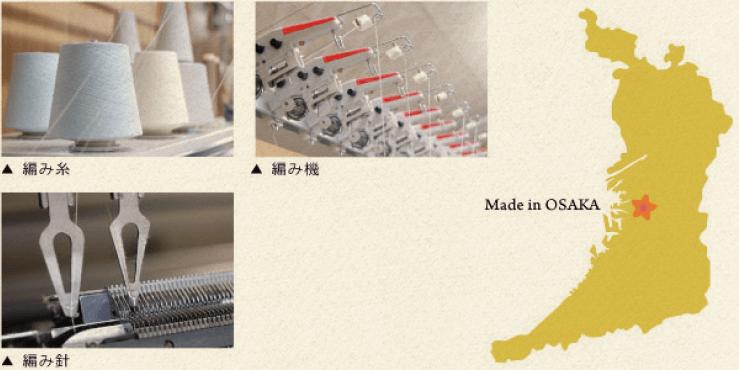 日本の繊維産業を担う街「大阪」